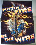 Putting Fire in the Wire Linemans T-Shirt - Shirts for Linemen!
